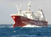 An Icefresh fishing vessel.