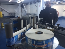A pre-production look at Stavis Seafoods' state-of-the-art processing facility