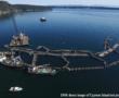 Cooke Aquaculture Pacific's collapsed Net-pen farm near Cypress Island, Washington